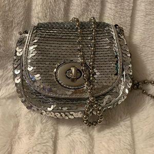 Coach Poppy Sequined Mini Bag